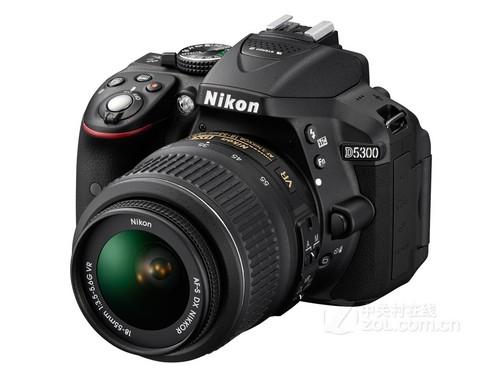 尼康D5300(单机) 可翻转LCD屏,无线遥控拍摄,光学取景器