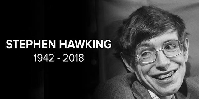 物理学家霍金逝世 科技界陨落一位巨星