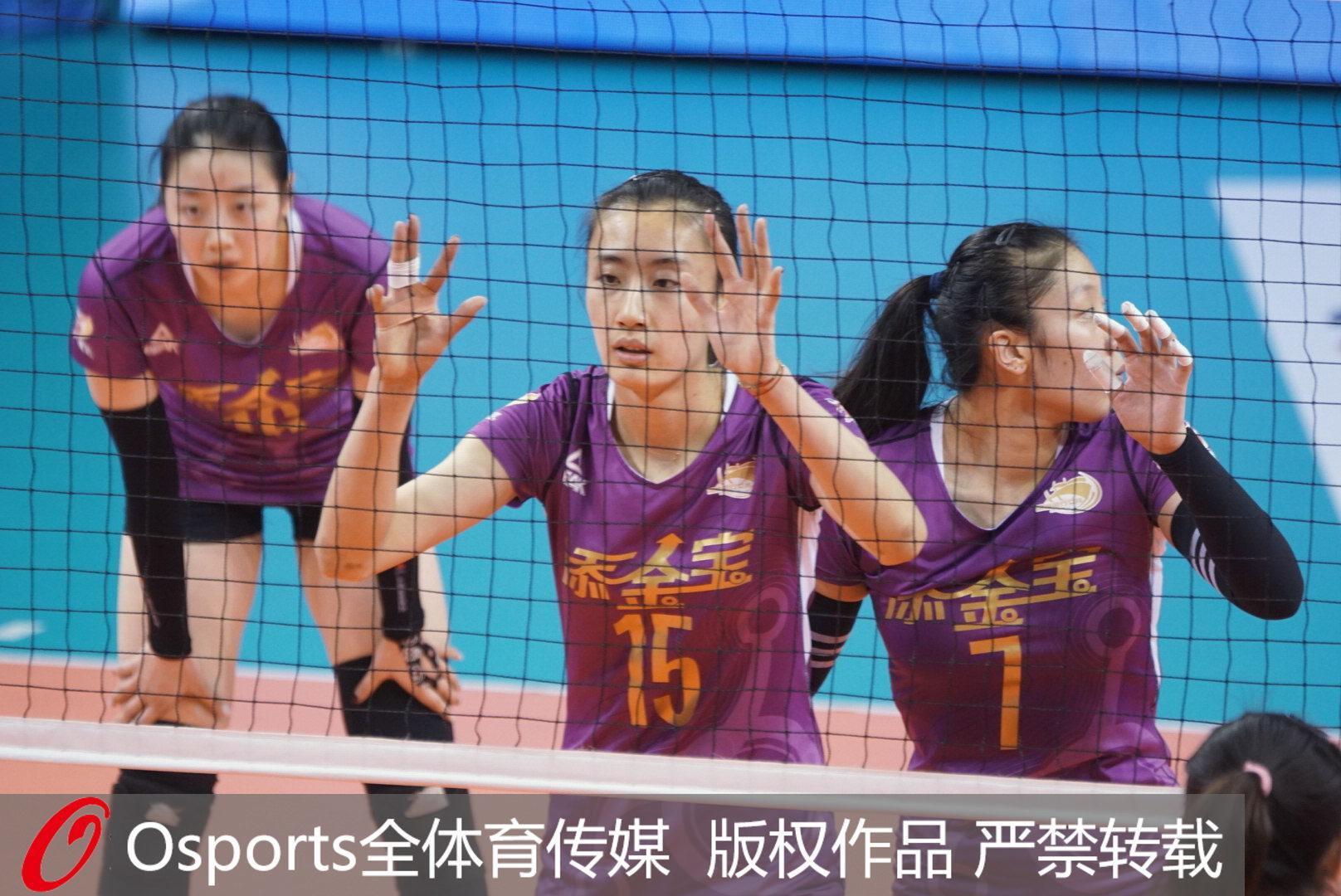 排超总决赛打响,李盈莹31分率天津客场擒上海