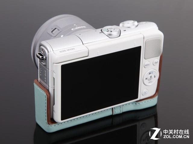 时尚外形简单操作 佳能微单EOS M100促销