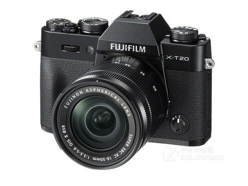 富士X-T20套机(XC 16-50mm II) APS-C画幅相机套机,104万像素旋转屏,无线WiFi