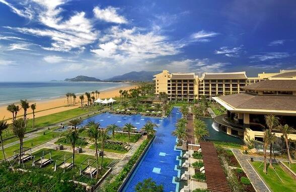 神州半岛喜来登及福朋复合式酒店接待中国铁人三项队