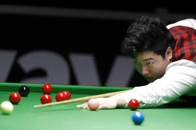 颜丙涛首次出战球员锦标赛 转职仅两年已屡创佳绩
