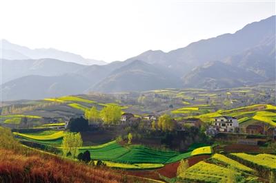 蓝田 绘就乡村旅游美丽蓝图