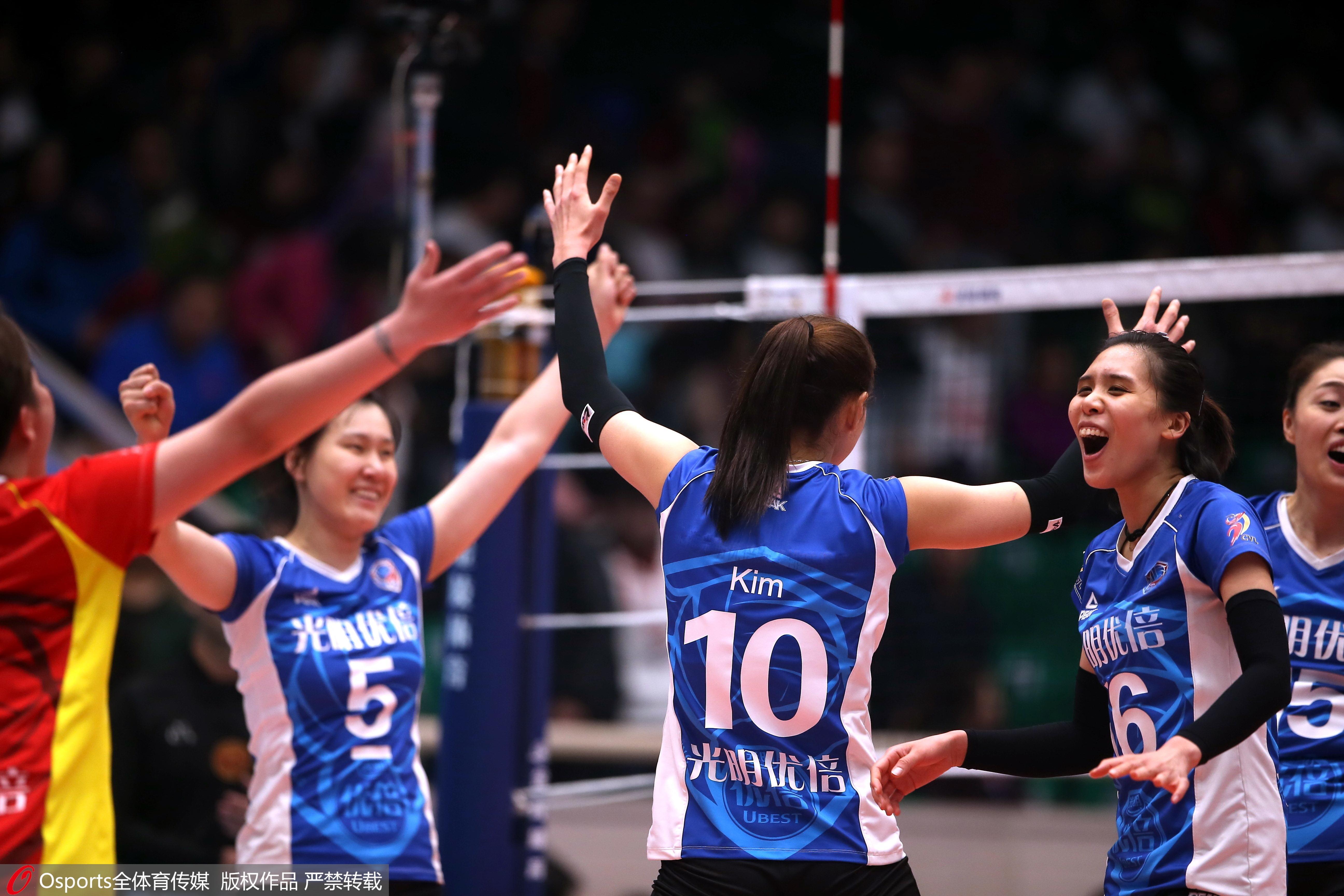 总决赛II:李盈莹28分难救主,上海女排客场3比1力克天津