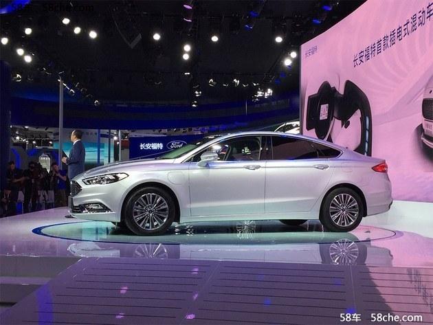 2017广州车展 福特蒙迪欧Energi亮相