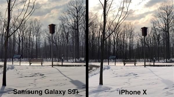三星S9+拍照对比iPhone X(图源网)