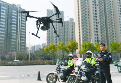 无人机助力交通管理