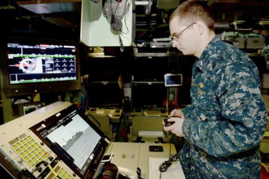 美最新核潜艇服役:艇上配游戏手柄 作用还非常重要