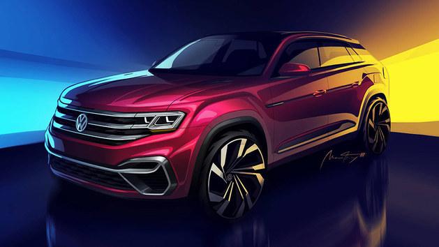 大众Atlas五座版概念车 将亮相纽约车展