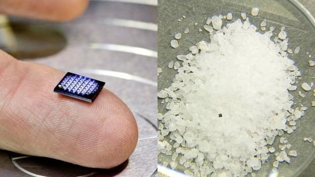 IBM推出世界最小电脑 比颗粒盐还袖珍