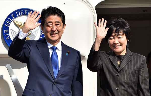 Shinzo Abe and his wife separated Or prepare for divorce