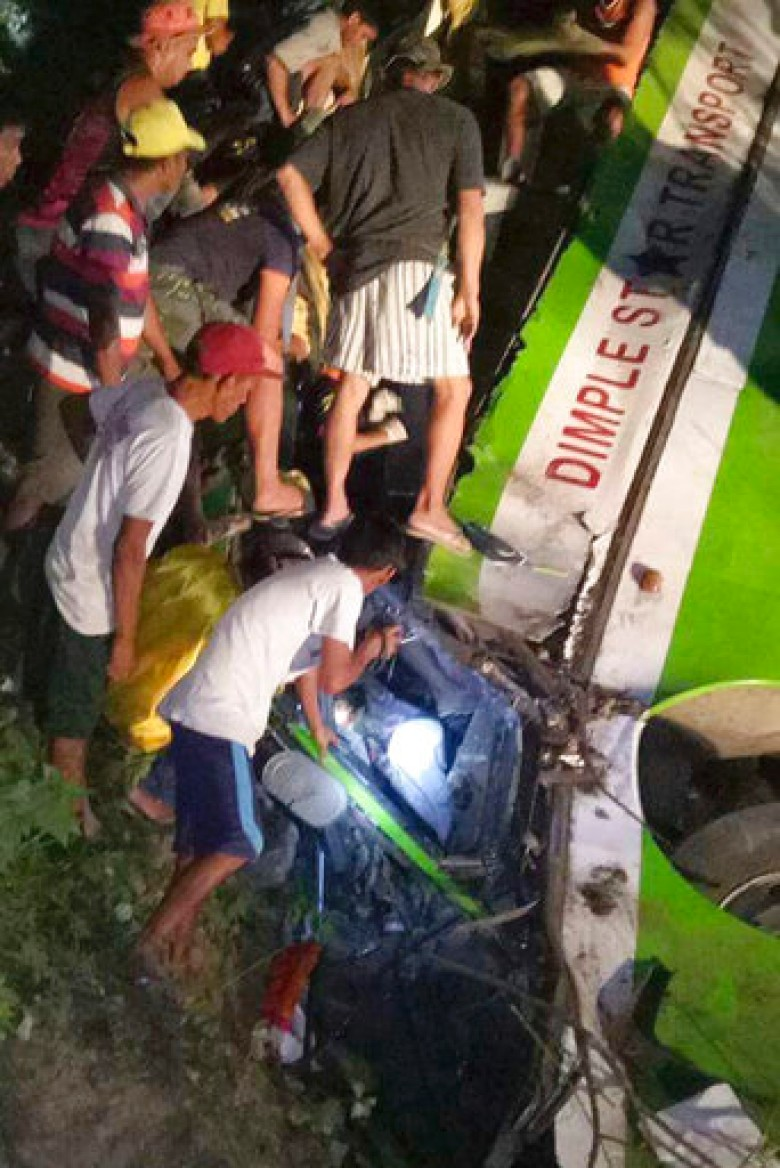 The Philippines bus drop valley to 19 dead 21 injuries unknown whether there are Chinese people