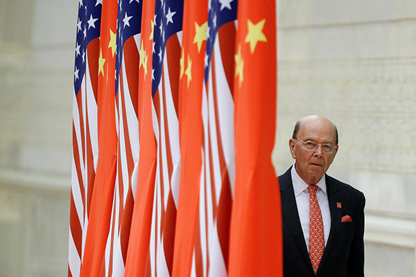 U.S. commerce secretary: punishment of tariff will not trigger a trade war would end up in the settlement