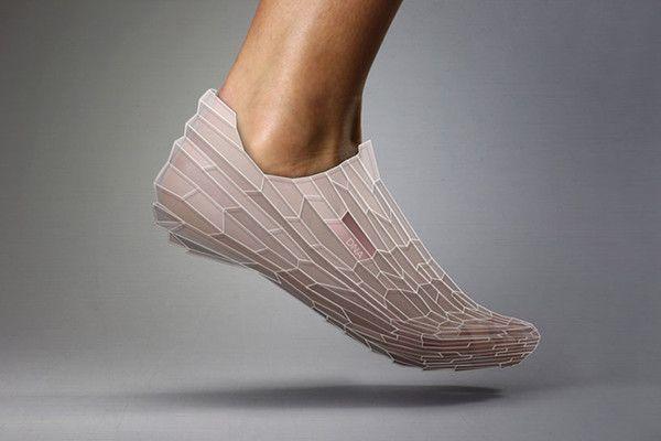 还有这些3D打印鞋能PK阿迪达斯4D跑鞋