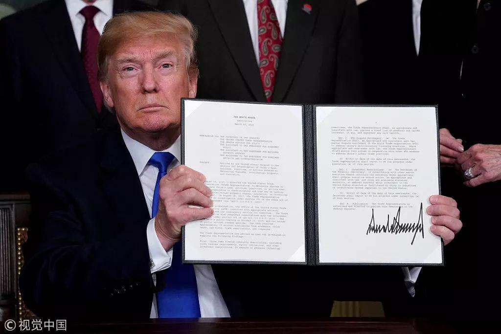 特朗普开打贸易战