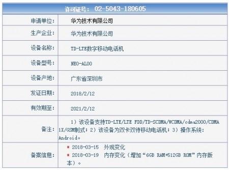 华为P20保时捷设计曝光:配徕卡三摄 或推512GB皇帝版