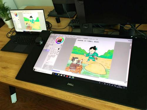 互联网  对设计师,漫画家来说,戴尔canvas智能画板能够让左手以一种新