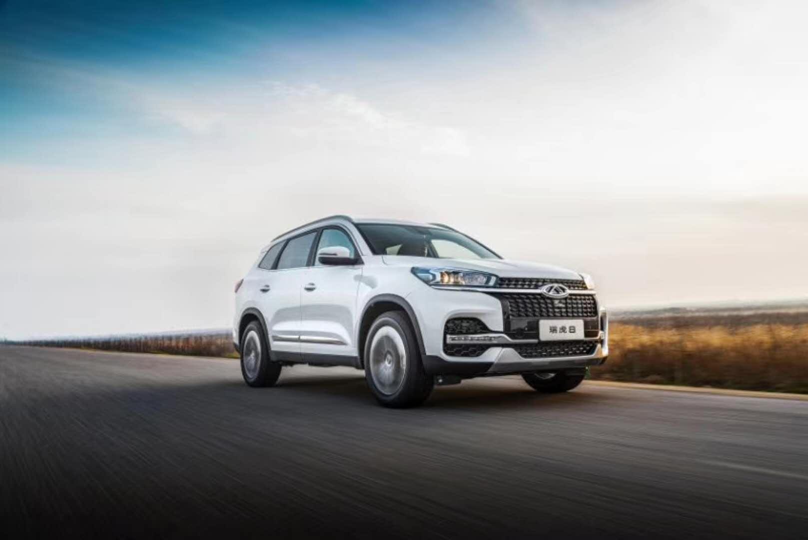 奇瑞北京车展 瑞虎8上市10万起售,新SUV基于5X打造价更低