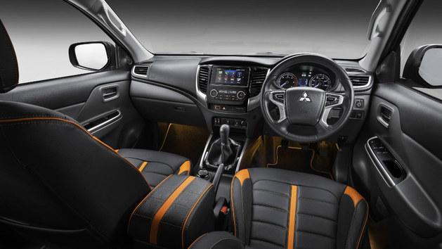 三菱L200特别版车型官图 更具活力的配色