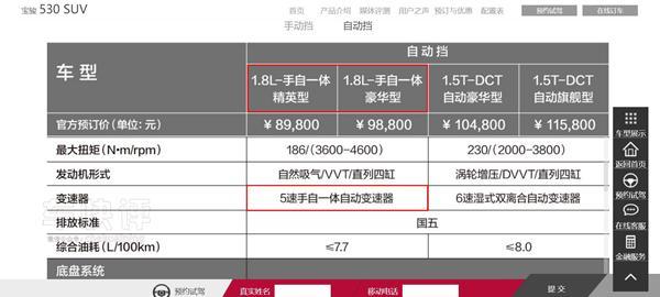 有人说宝骏530是510的外壳加560的配置 其实这句话错了