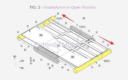 三星疑似研发『 伸缩屏幕 』新技术,未来手机可一秒变