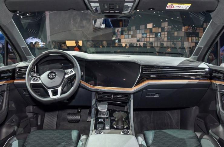 """大众汽车""""SUV之年""""开启:一口气推出4款全新SUV新一代途锐领衔_"""