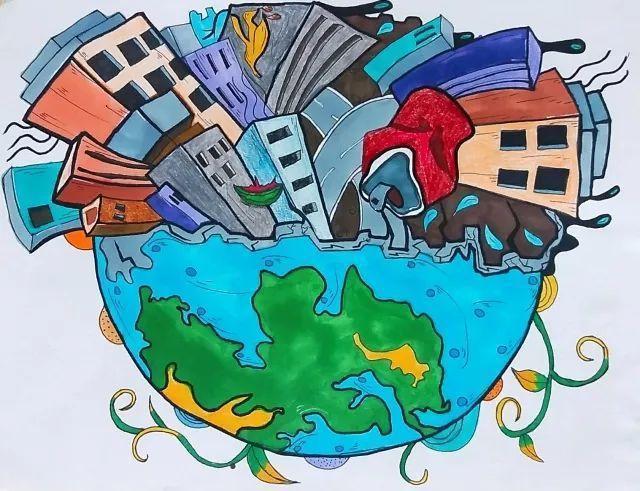 所以,爱护地球就是为我们的未来着想,为人类的繁衍发展做准备.图片