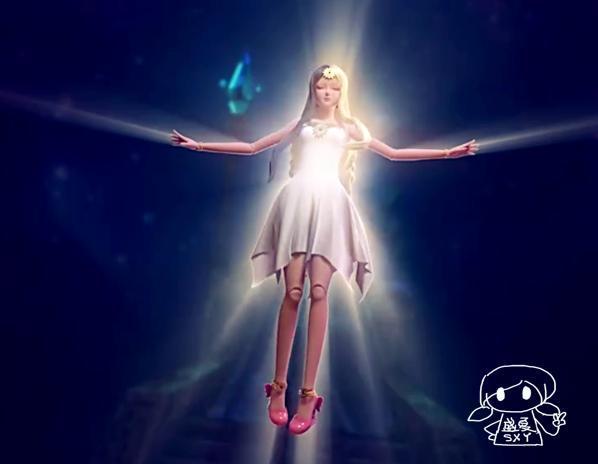 叶罗丽四大最美腾空造型,陈思思上榜,白光莹自带圣光!图片