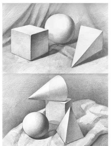 零基础学素描—静物步骤图(二)