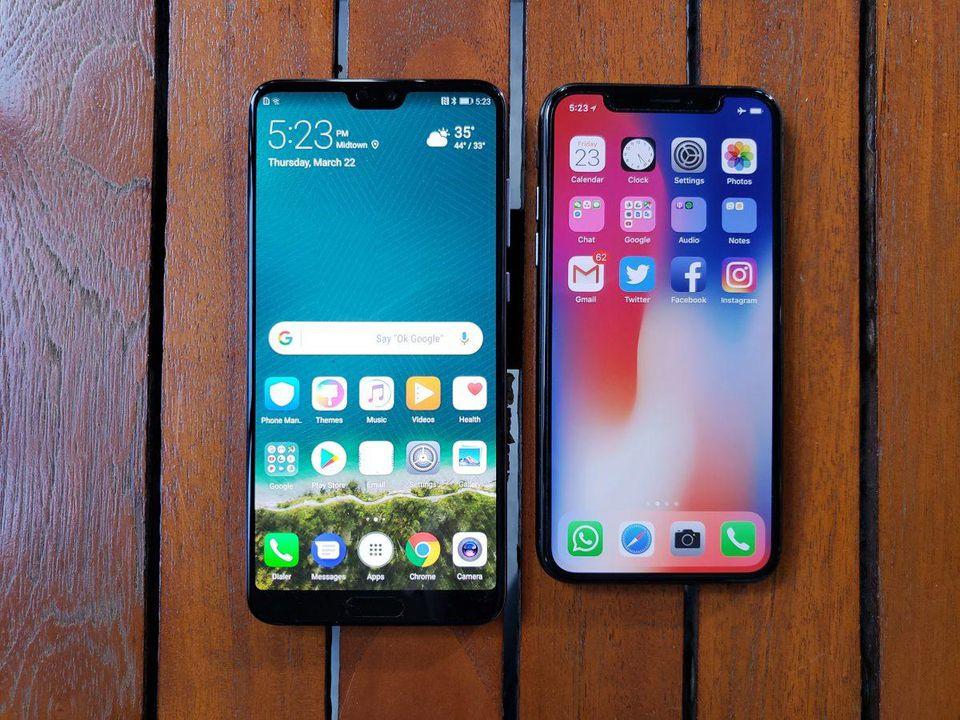 华为P20 Pro拍照完虐iPhone X?看对比吧