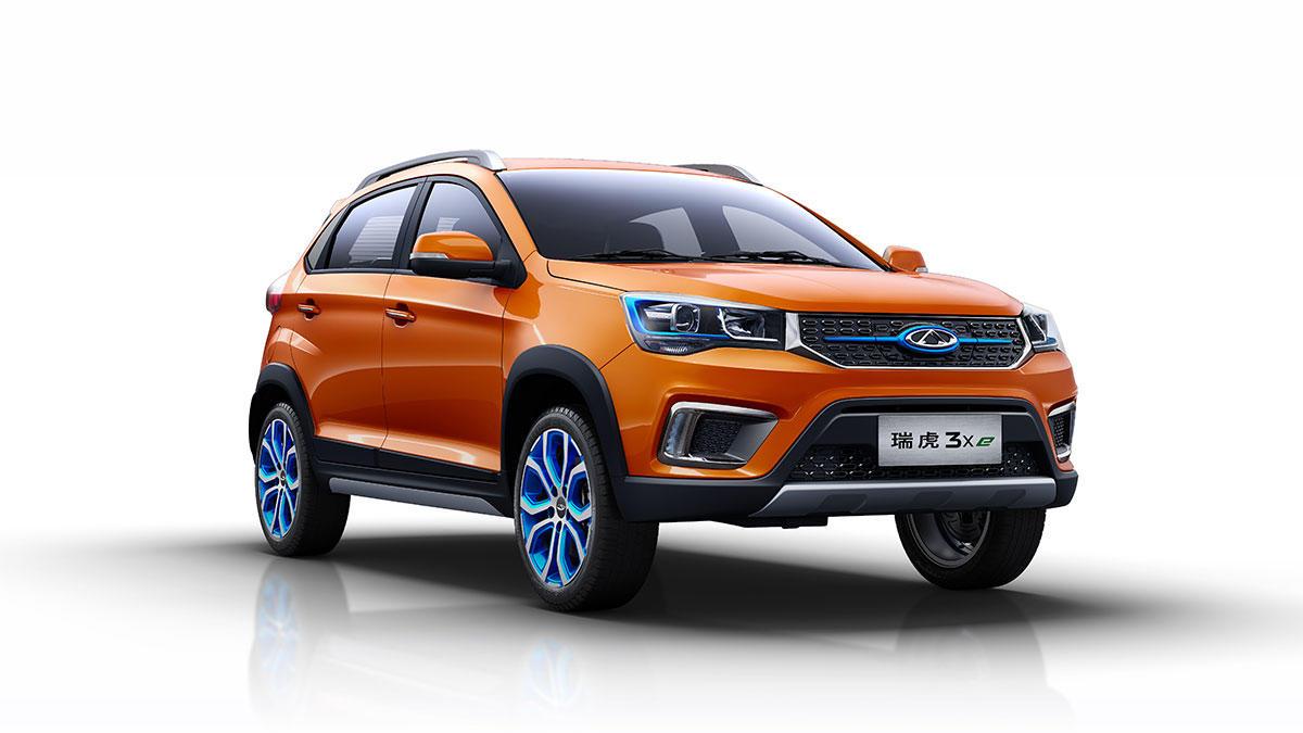 3月28日,奇瑞新能源旗下首款纯电动suv——瑞虎3xe上市,新车基于奇瑞