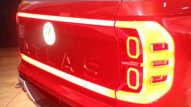 2018纽约车展 大众Atlas Tanoak概念车