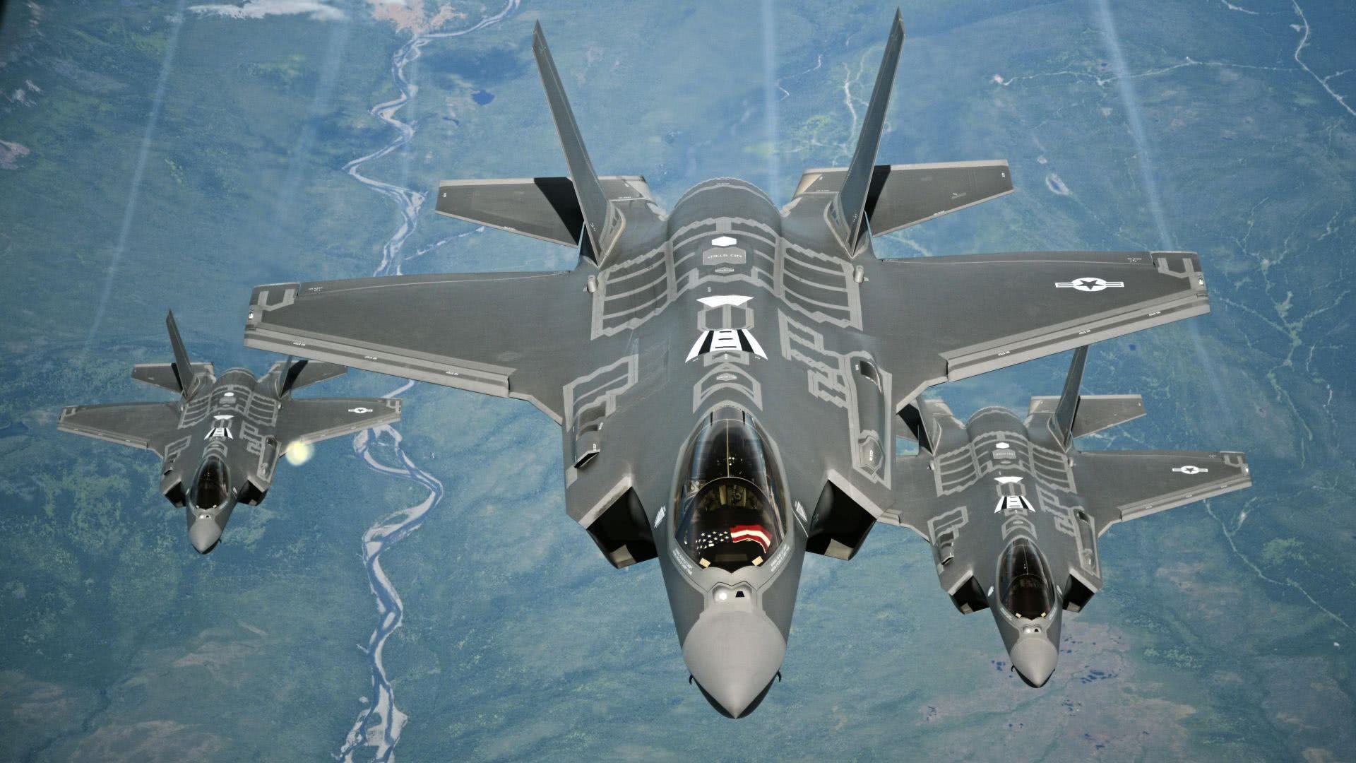 首架韩国F35目标歼20?美军2个坏消息让韩军头