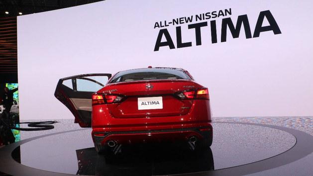 2018纽约车展 日产全新Altima正式发布