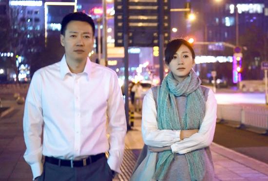辛柏青(左)在电视剧《美好生活》里剧照 受访者供图