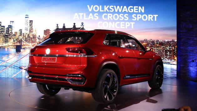 2018纽约车展 大众Atlas Cross Sport