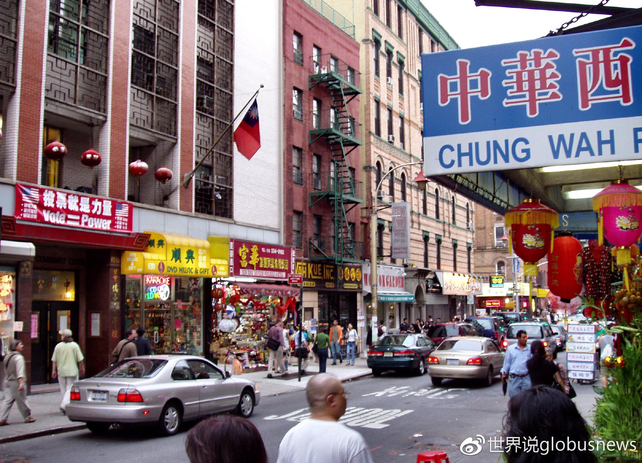 曼哈顿唐人街来源:维基百科