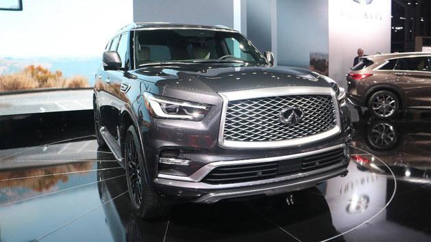 2018年纽约车展 英菲尼迪QX80限量版亮相