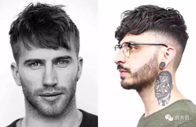 男生两侧头发特别硬,剪什么发型最帅气?