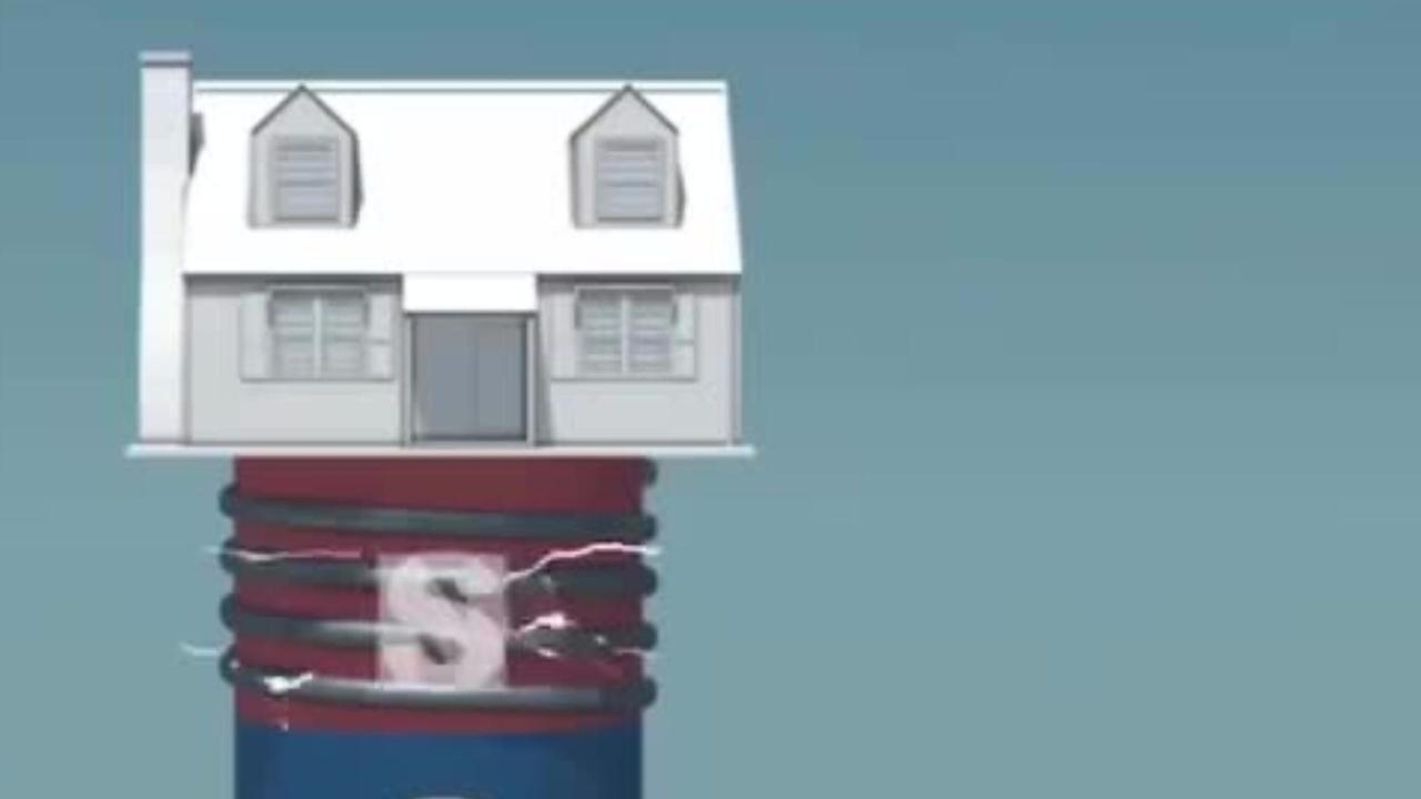 磁悬浮房子见过么?地震都不怕!网友:日本人发明的?