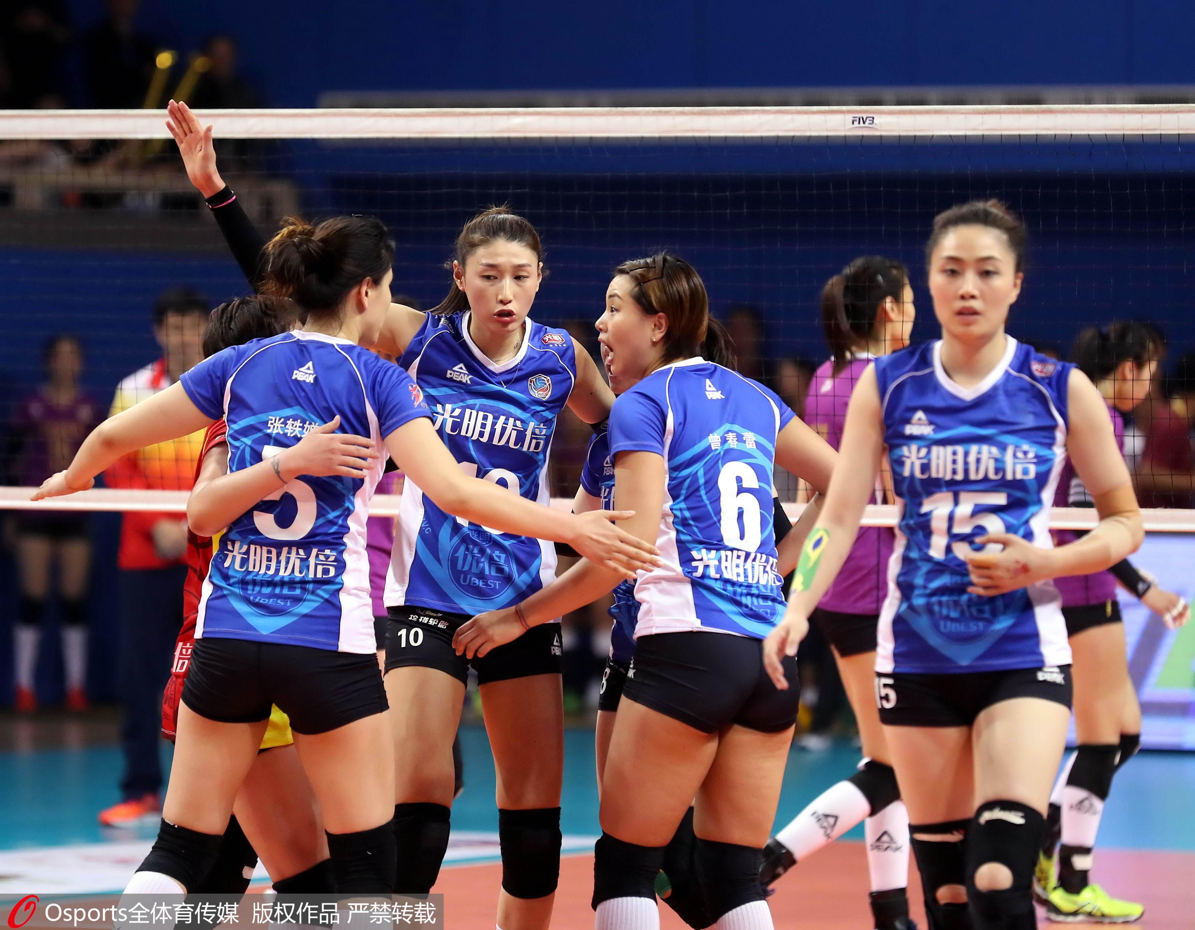 痛失好局!上海女排主场2比3被天津逆袭,总决赛拖进第7场