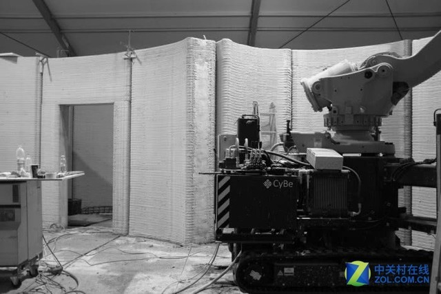 欧盟首个3D打印混凝土房屋项目已经动工