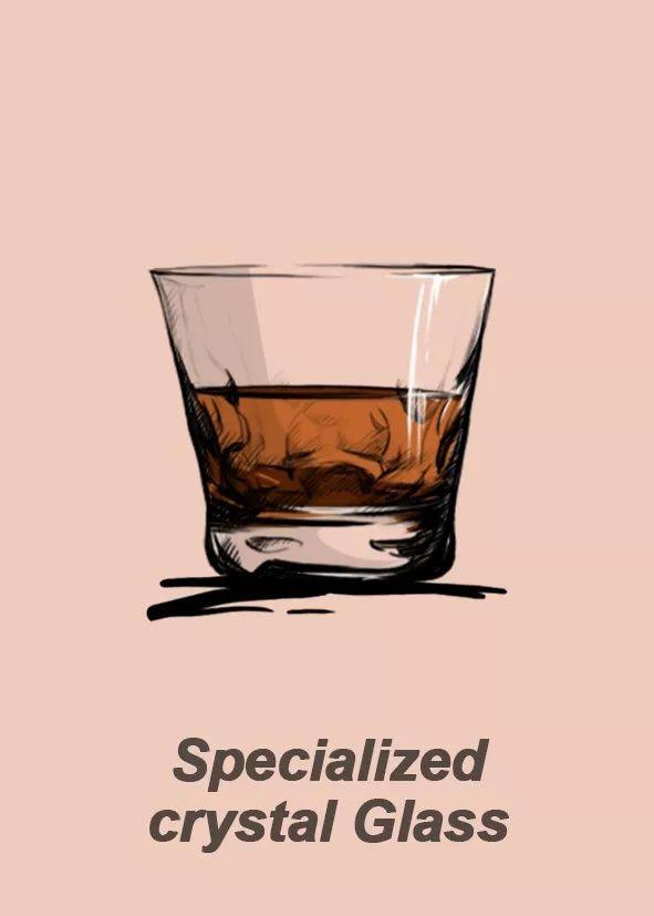 Specialized crystal Glass