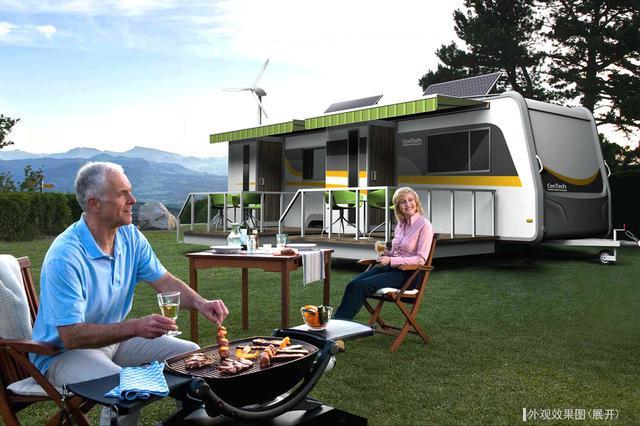 营地式房车,房车旅行新体验,你们要的两室一厅来了