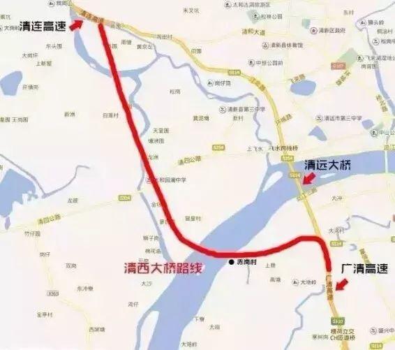 广清清连高速连接线6月底通车