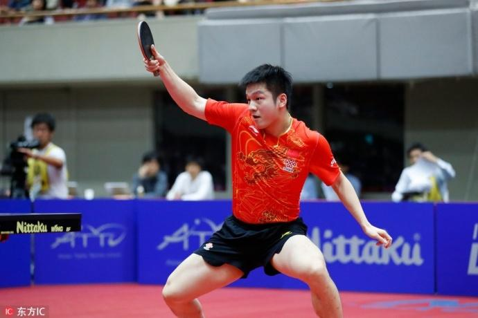 国乒8-1击溃韩国包揽冠亚军 樊振东林高远团灭韩国