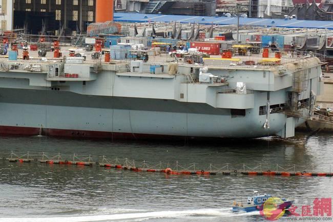 中国迈入双航母时代!首艘国产航母建造已收尾