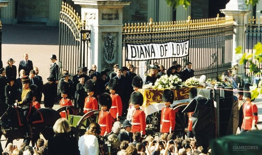 戴安娜王妃的葬礼成为了一代人的集体记忆