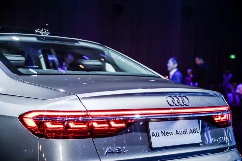 全新奥迪A8L上市 售价93.78万-130.98万
